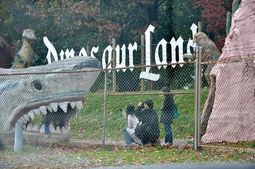 Dinosaur Land Giant Shark Photo