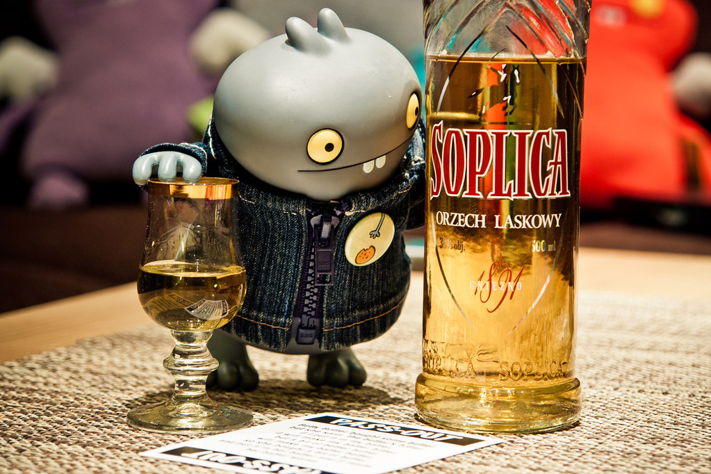 Uglyworld #1333 - Drunk As A Skunk (Project BIG - Image 316-365)