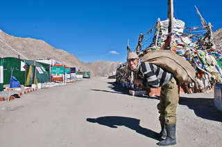 It Ain't Heavy - at 17500 Feet at Chang La in Ladakh