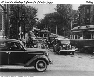 Avenue Road, looking south from St. Clair Avenue West