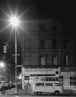 White Cup Food Shop, Columbus Avenue, 1980s