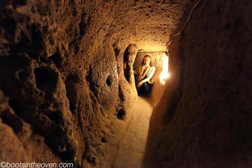 Rachel in Tunnel