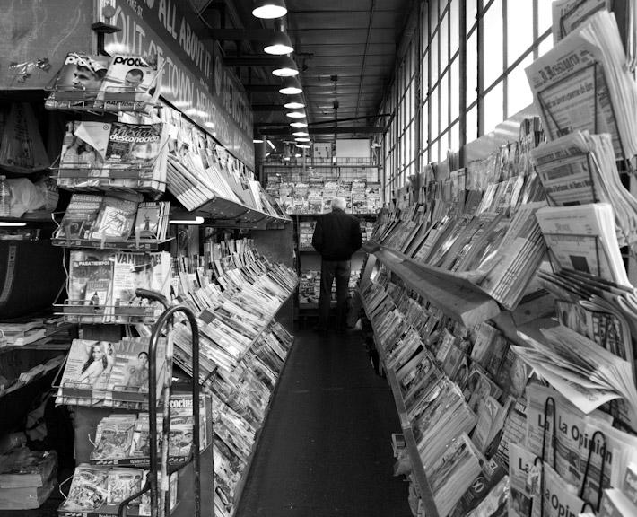 Newsstand.