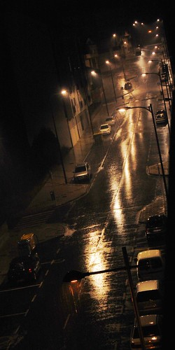 The rain in Carballo