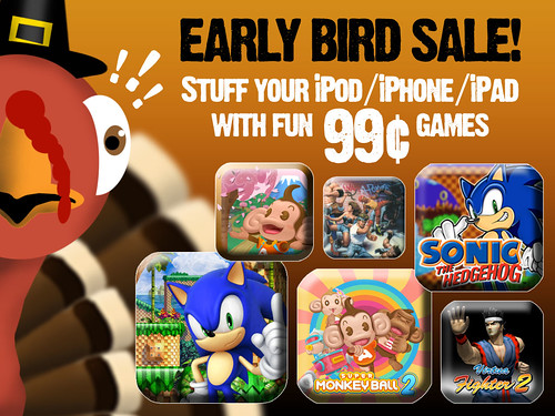 Thanksgiving App Sale!