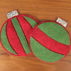 Iron Craft Challenge #47 - Christmas Ornament Coasters