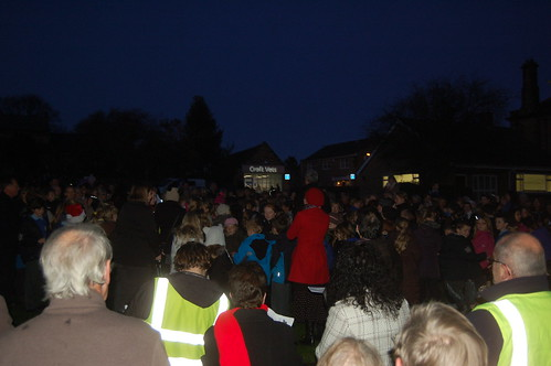 Whickham Xmas lights switch on Nov 11 14