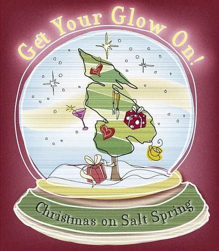 Glow on Salt Spring this Christmas