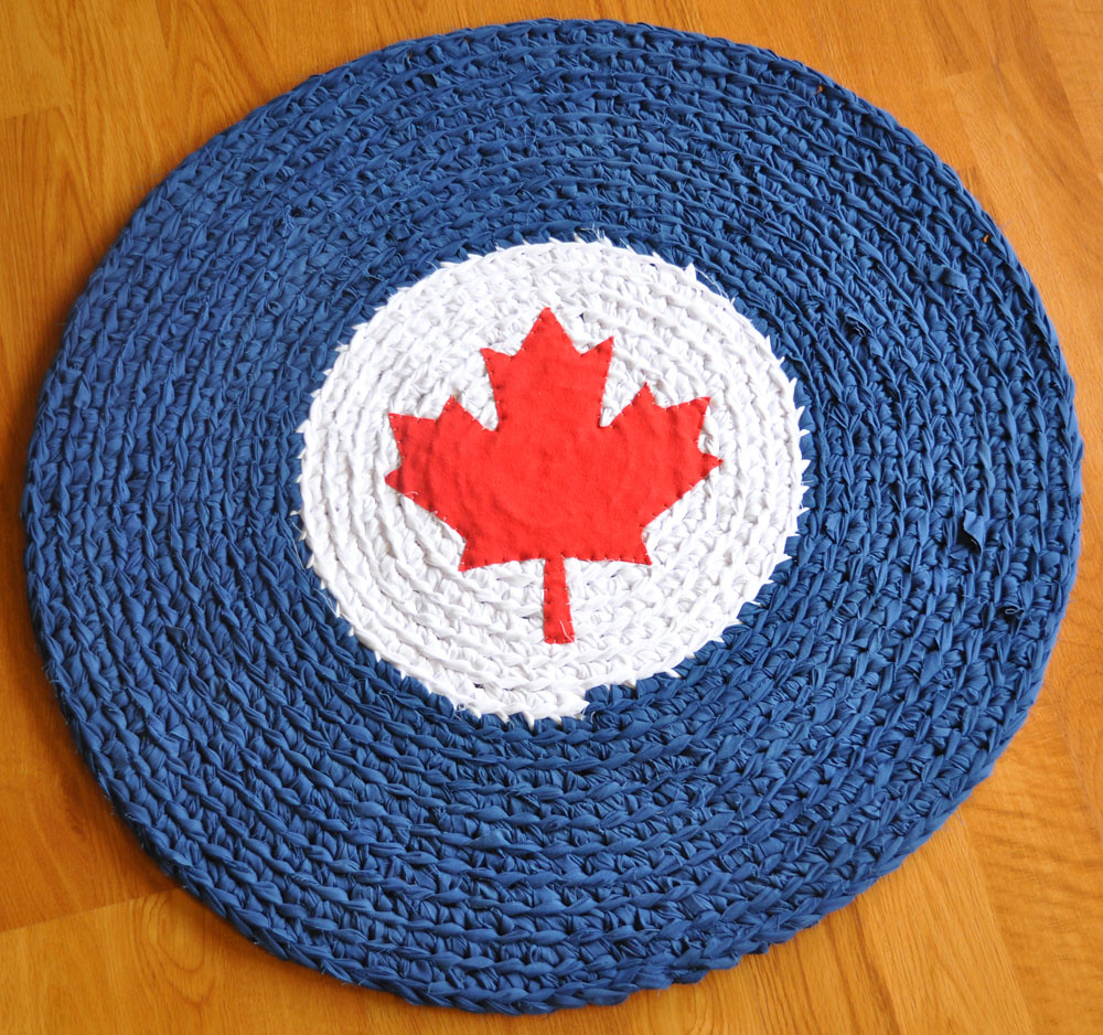 Canadian Air Force Roundel Rug