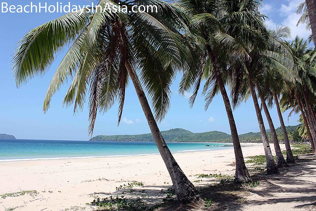 Nacpan and Calitang Beaches in El Nido