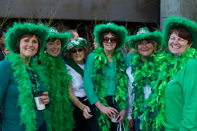 St. Patrick's Day smiles by flickr user RuffRyd