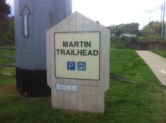 Martin Trailhead Sign