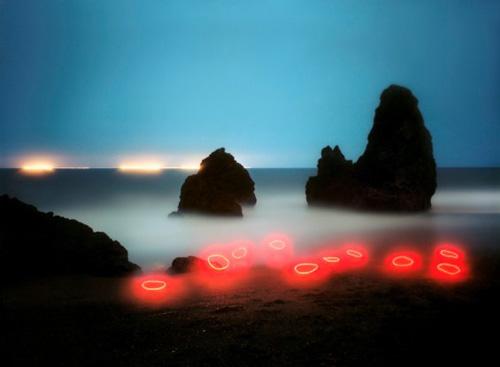 藝術:Barry Underwood 的光裝置