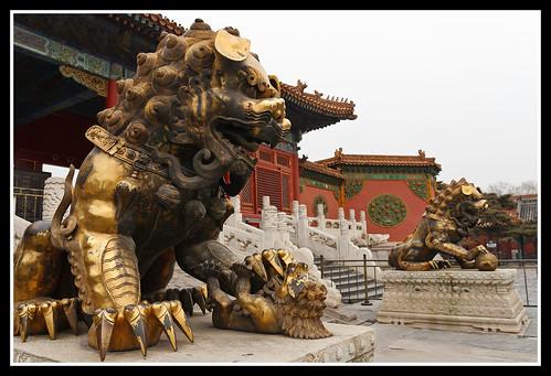 石獅 Shishi (Chinese guardian lions)