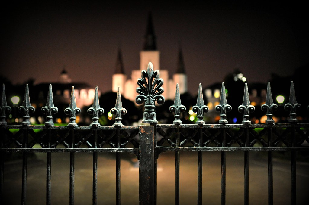 a new orleans fence