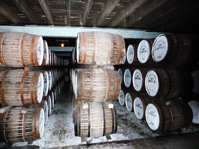 Maturing Whisky at Distillery