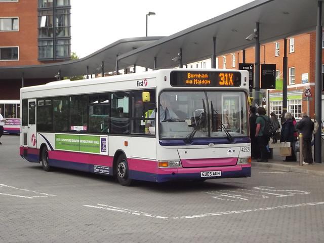 First essex bus.