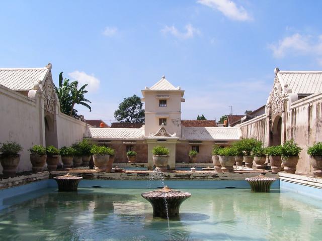 蘇丹的專用浴池
