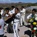 Musicians - Músicos; Procesión Guadalupana, Xonostle, Oaxaca, Mexico por Lon&Queta