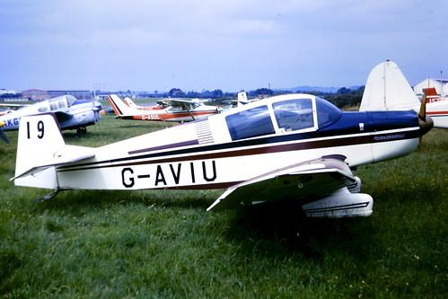 Jodel DR1050 G-AVIU