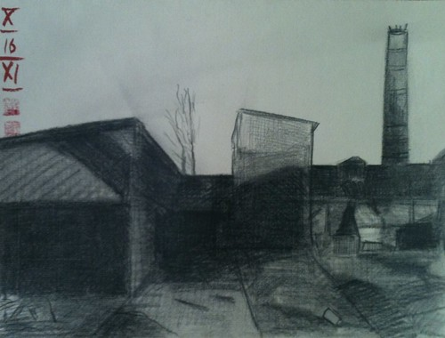 wasted land, drawing 31x23,5cm, 20111016