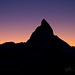 The Silhouette of Matterhorn by Lea's UW Photography