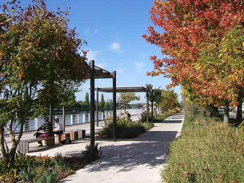 Esplanade du lac d'Allier Vichy