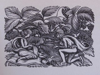Gwen Raverat wood engraving