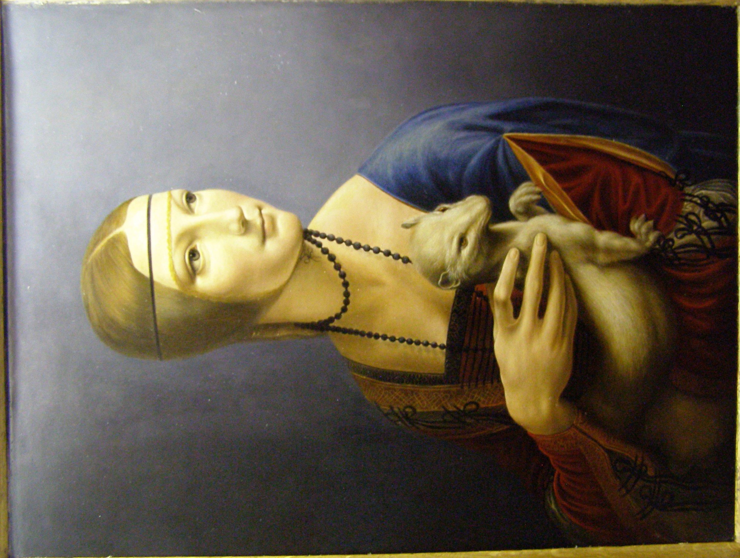 Leonardo da vinci dama ermellino