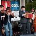 Red Stick Ramblers at Downtown Alive!, Parc Sans Souci, Lafayette, LA, Oct. 21, 2011