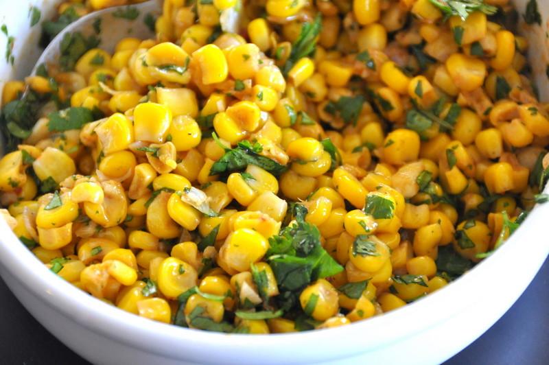 Pompano with Chipotle Corn Salsa
