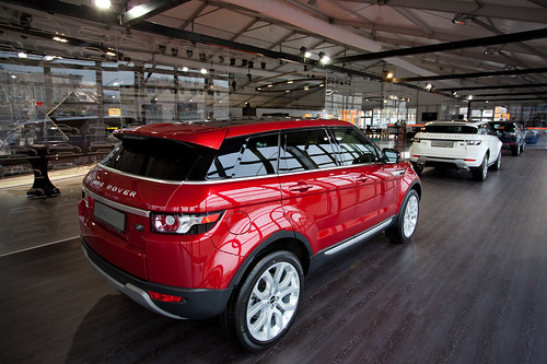 Presentation Range Rover Evoque by ru0905