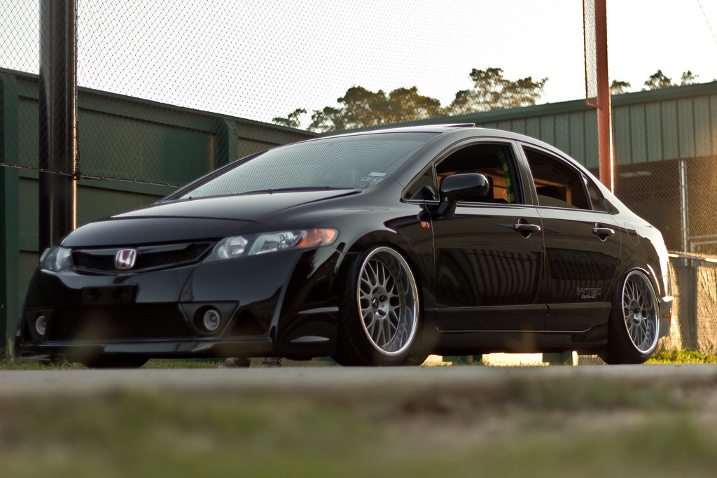 superchared stanced 8th gen civic si san antonio imports. Black Bedroom Furniture Sets. Home Design Ideas