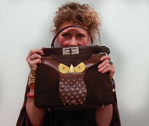 DIY Kate Spade Owl Purse