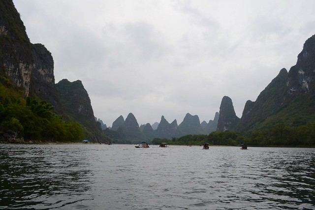 Yangshuo's karst mountains most iconic spot