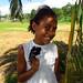 Spidey making friends at the 180 degree meridian (dateline) Taveuni Island, Fiji 22OCT11