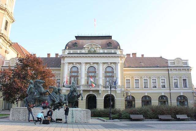 Egri Városháza, ayuntamiento de Eger