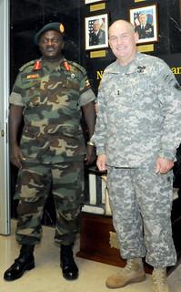 Ugandan People's Defense Force Commander Visits USARAF