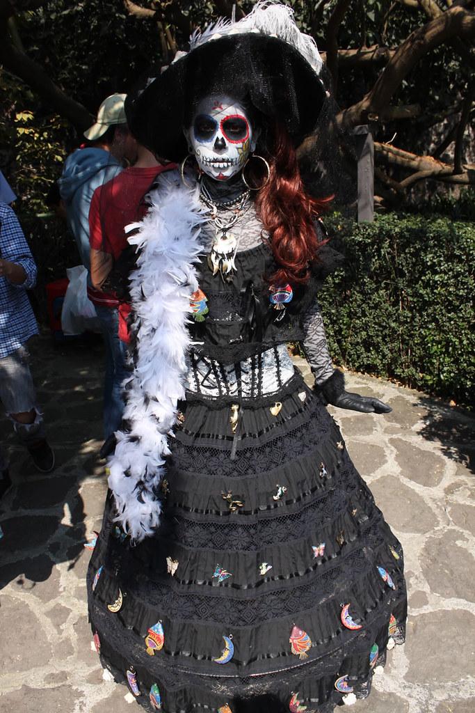 disfraces de halloween en xochimilco