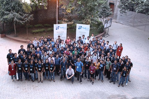 Group shot in FUDCon Pune 2011