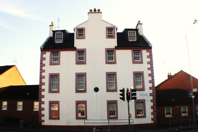 Restored Tenement Block, 1780s, Gallowgate, Glasgow, Scotland