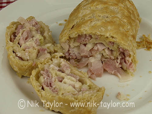 Cheese, bacon and onion roly poly | Flickr - Photo Sharing!