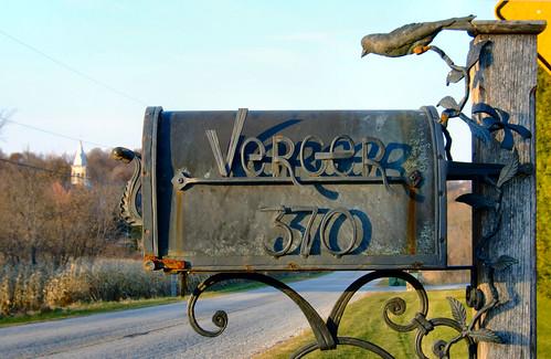 sunset mailbox charming
