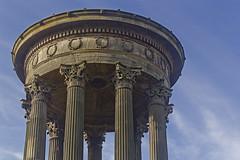 Monument to Dugald Stewart, Calton Hill, Edinburgh