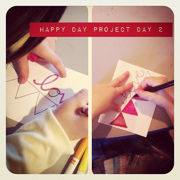 Happy Day project, day 2 (@JoysHope)