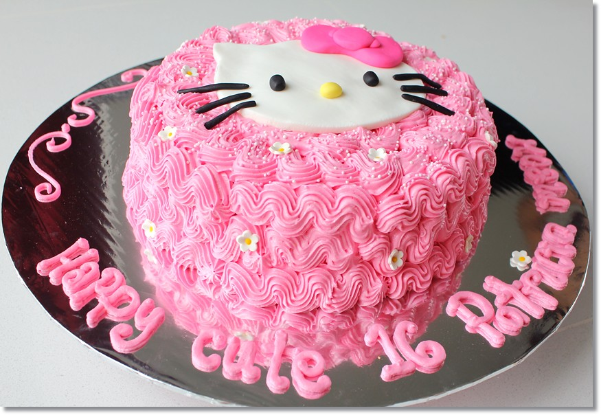 Hello Kitty Icing Cake Design Milofi Com For