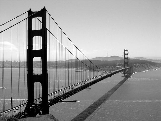 Golden Gate Bridge Black Amp White San Francisco