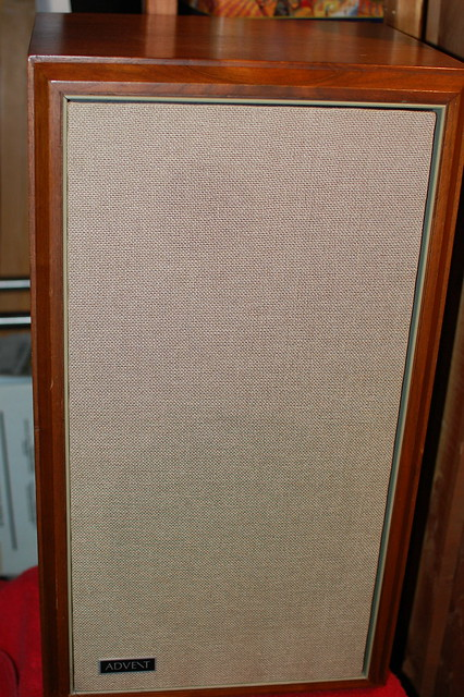 Original Large Advent Walnut Veneer