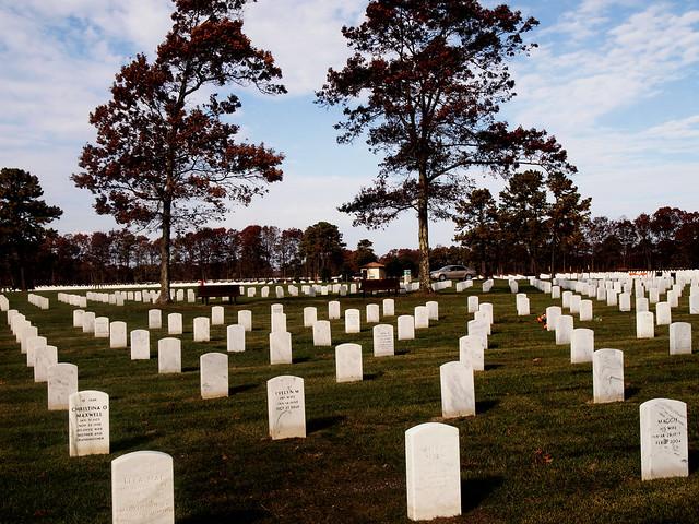 Military Cemetery Long Island