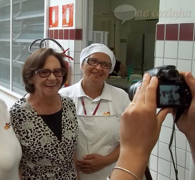 Mamãe com a Laura Cardoso